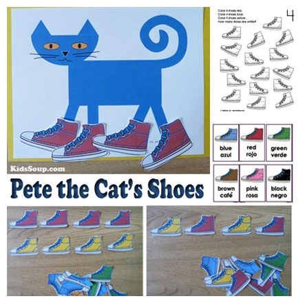 picture relating to Pete the Cat Shoes Printable named Pete the Cat Footwear Functions KidsSoup