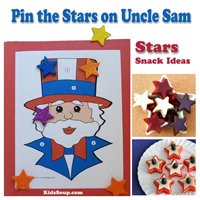 Preschool Kindergarten 4th of July Game and Activity