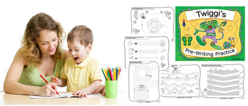 Preschool Pre Writing Skills Worksheets Kidssoup