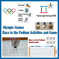Preschool and Kindergarten Winter Sport Olympics Activities