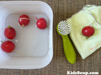 Fruits And Vegetables Fine Motor Skill Activity For Preschool