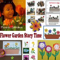 Preschool Kindergarten Flower Garden Story Time Activities