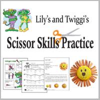 scissor skills workbook and printables