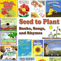 Preschool Kindergarten from Seed to Plant Books, Rhymes