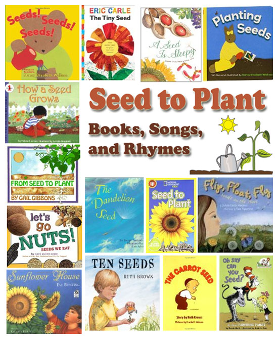 Books Rhymes And Songs Are A Perfect Way For Young Children To Learn About Seeds What Plants Need Grow Which Kinds Of We Eat
