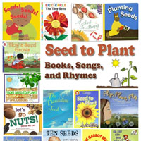 Seeds and Plants Books and Rhymes