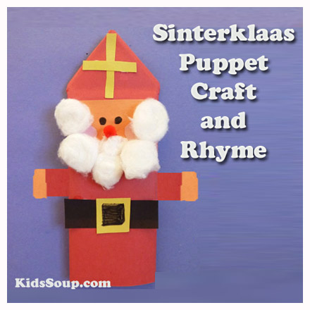 sinterklaas puppet craft and rhyme kidssoup. Black Bedroom Furniture Sets. Home Design Ideas