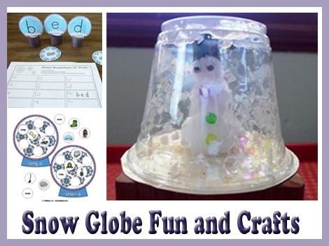 snow globe fun kidssoup
