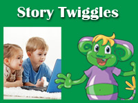 Story Twiggles interactive online books for preschool and kindergarten