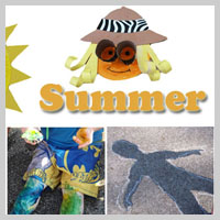 Preschool Kindergarten Summer Activities and Games