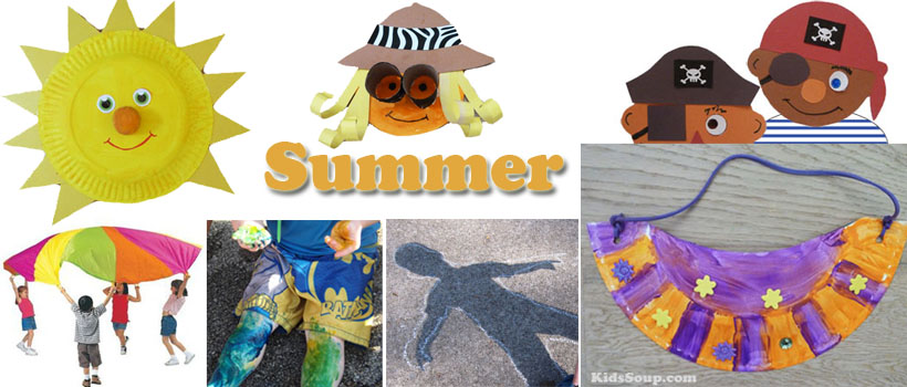 Summer Preschool And Kindergarten Activities Crafts