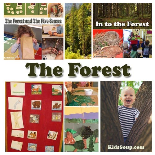The forest preschool activities, crafts, and lessons