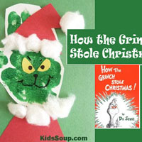 The Grinch craft, activities, games, and snack ideas