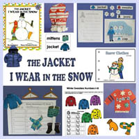 Preschool and Kindergarten The Jacket I wear in the Snow Activities