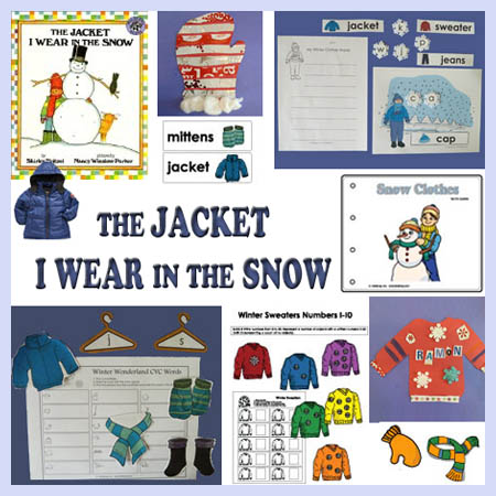 The Jacket I Wear In The Snow Teaching Ideas And Resources Kidssoup