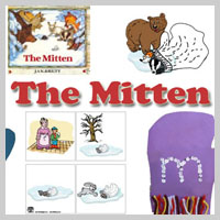 Preschool and Kindergarten The Mitten Activities and Crafts