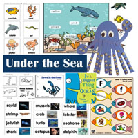 Under the Sea Theme and Activities for Preschool and Kindergarten