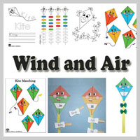 Preschool and Kindergarten Wind and Air Activities and Crafts