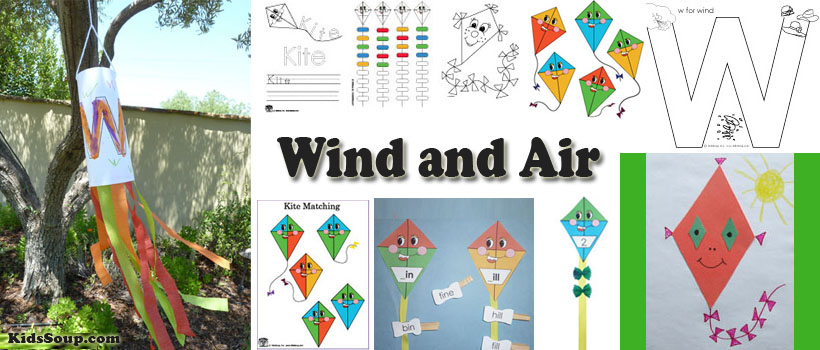 Wind And Air Activities Crafts Games And Printables on Nursery Rhymes Worksheets For Kindergarten S
