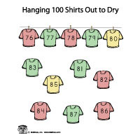 100 counting by 10 activity and printables for preschool and kindergarten