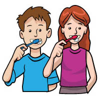 Brushing Teeth Song and Activities for preschool and kindergarten