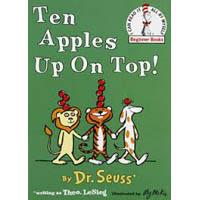 10 Apples Up On Top preschool and kindergarten activities