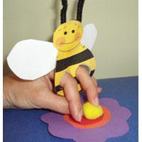 preschool bee flower pollination science activity and lesson
