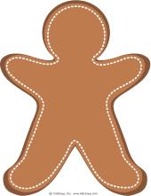 Gingerbread Man And Girl Playdough Fun Kidssoup