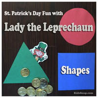 Lady Leprechaun Shapes Activity and Lesson
