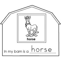 farm animals activities and printables for preschool and kindergarten