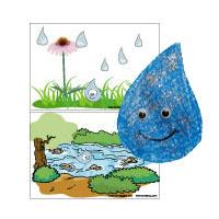 Earth Day Felt Story and activities for preschool and kindergarten