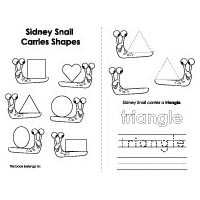 Shapes booklet and printables