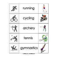 Olympic Games Reading Activity