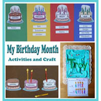 Our Birthday Months Preschool and Kindergarten Activities