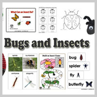 Preschool Kindergarten Bugs and Insects Activities and Crafts