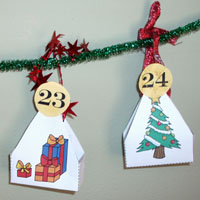 Countdown to Christmas and Advent Calendar activities