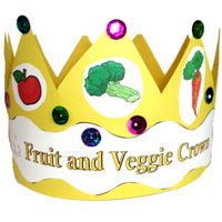 Fruits and Vegetables crafts and activities for preschool