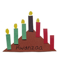 Preschool and Kindergarten Kwanzaa Craft