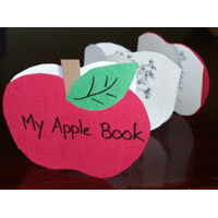 apple life cycle book craft and activity for preschool and kindergarten