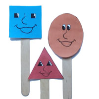 Shapes puppets rhymes and songs