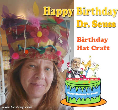Celebrate The Birthday Of Beloved Childrens Author Dr Seuss On March 2nd By Making Inspired Hats From Brown Paper Bags