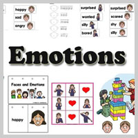 Preschool Kindergarten Feelings and Emotions Activities and Lessons