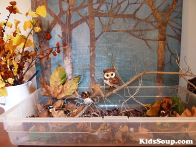 fall leaves play and sensory exploration kidssoup