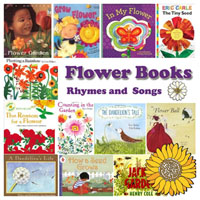 Preschool Kindergarten Flower Books and Rhymes