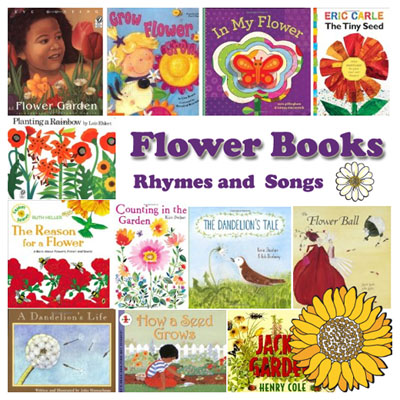 Flower books, rhymes and songs