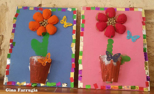 Mother's Day Flowers Craft for preschool