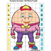 One 100 game and activity for preschool and kindergarten