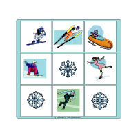 Winter Olympics Bingo Game