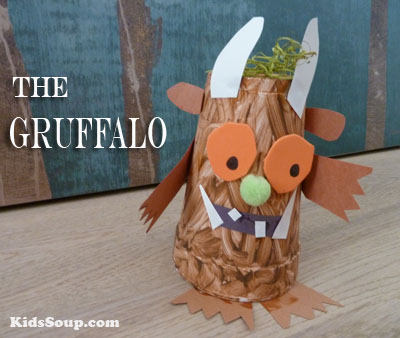 Gruffalo preschool craft