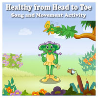 Preschool Healthy Me Movement Song and Activity